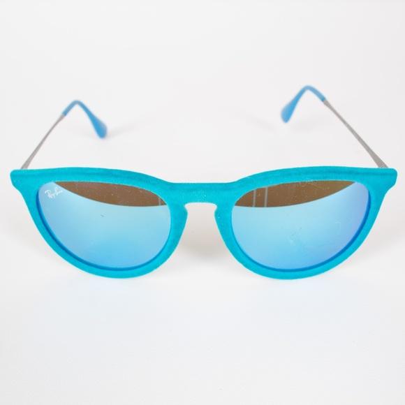 8cd5b80c0f Ray Ban Bright Blue Velvet Erika Sunglasses RB4171.  M 5b598f62c617770118bf2822